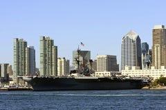 Porta-aviões da marinha dos E.U. fotos de stock