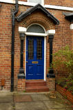Porta azul Foto de Stock Royalty Free