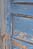 Porta azul Foto de Stock