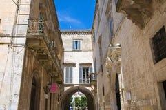 Porta Bari. Altamura. Puglia. Italy. Stock Images