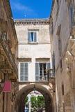 Porta Bari. Altamura. Puglia. Italy. Stock Photos