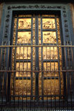 Porta battistero. Famous door of Baptistery in Florence, Italy Royalty Free Stock Photo