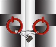 Porta bloccata 1 Fotografia Stock Libera da Diritti