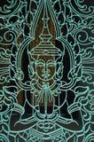 Porta cambojana imagem de stock