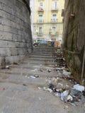 Porta Capuana, portone della città antica a Napoli, Italia del sud immagine stock libera da diritti