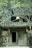 Porta, casa de minorias étnicas Fotos de Stock
