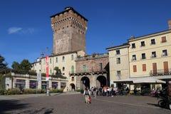 Porta Castello Tower in Vicenza, Italy royalty free stock photos