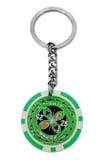 Porta-chaves da microplaqueta de pôquer Imagem de Stock Royalty Free