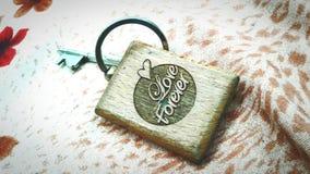 Porta-chaves do amor Fotos de Stock Royalty Free
