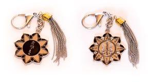 Porta-chaves do amuleto da roda da proteção do zumbido dez Fotografia de Stock Royalty Free