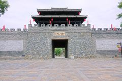 Porta chinesa da cidade imagens de stock royalty free