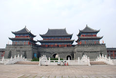 Porta chinesa da cidade Imagem de Stock Royalty Free
