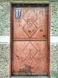 Porta chinesa do metal Foto de Stock