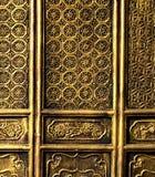Porta chinesa do templo, Kuming, Yunnan foto de stock royalty free