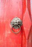 Porta chinesa velha Fotografia de Stock Royalty Free