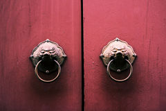 Porta chinesa velha Imagem de Stock Royalty Free