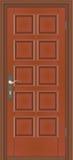 A porta chiusa Immagine Stock Libera da Diritti