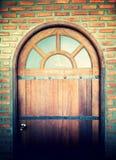 A porta chiusa Fotografie Stock