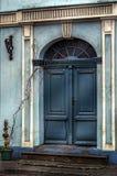 A porta chiusa Immagine Stock
