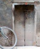 A porta chiusa Immagini Stock