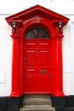 porta clássica do victorian no Reino Unido imagem de stock