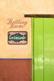 Porta colorida brilhante no negócio em México Fotos de Stock Royalty Free