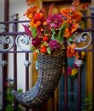 Porta com cesta Imagem de Stock Royalty Free
