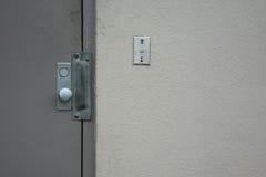 Porta comercial da segurança Imagem de Stock