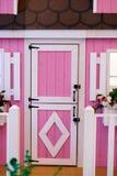 Porta cor-de-rosa imagens de stock