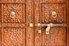 Porta Crafted - Índia Imagens de Stock
