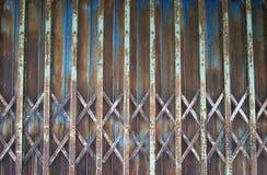 Porta d'acciaio Immagini Stock