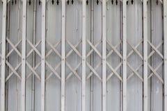 Porta d'acciaio di allungamento Fotografie Stock Libere da Diritti
