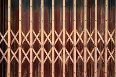 Porta d'acciaio di allungamento Fotografia Stock