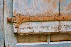 Porta d'annata Fotografia Stock Libera da Diritti