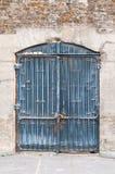 Porta d'annata a Parigi Fotografia Stock