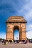 Porta da Índia um memorial de guerra em Nova Deli Foto de Stock Royalty Free