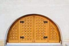 Porta da adega de vinho Imagens de Stock