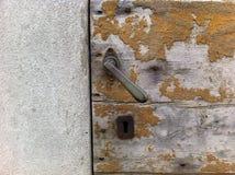 Porta da aprirsi Fotografia Stock Libera da Diritti