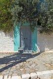 Porta da casa Foto de Stock Royalty Free