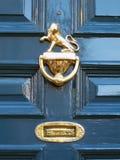 Porta da casa da mansão de York Imagem de Stock Royalty Free