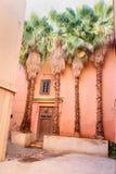 Porta da casa em C4marraquexe marrocos imagens de stock