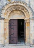 Porta da catedral Imagem de Stock Royalty Free