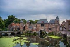Porta da cidade em Amersfoort Foto de Stock Royalty Free