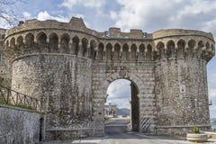 Porta da cidade em Narni Fotos de Stock