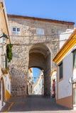 Porta da Devesa in Portalegre city Stock Photo