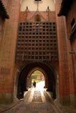 Porta da entrada do castelo Fotos de Stock Royalty Free