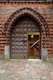 Porta da entrada do castelo Fotografia de Stock