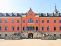 Porta da entrada do castelo de Sychrov na república checa Imagens de Stock
