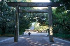 Porta da entrada do shrinetorii de Atsuta Fotografia de Stock Royalty Free