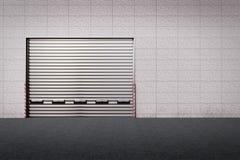 Porta da entrega Fotografia de Stock